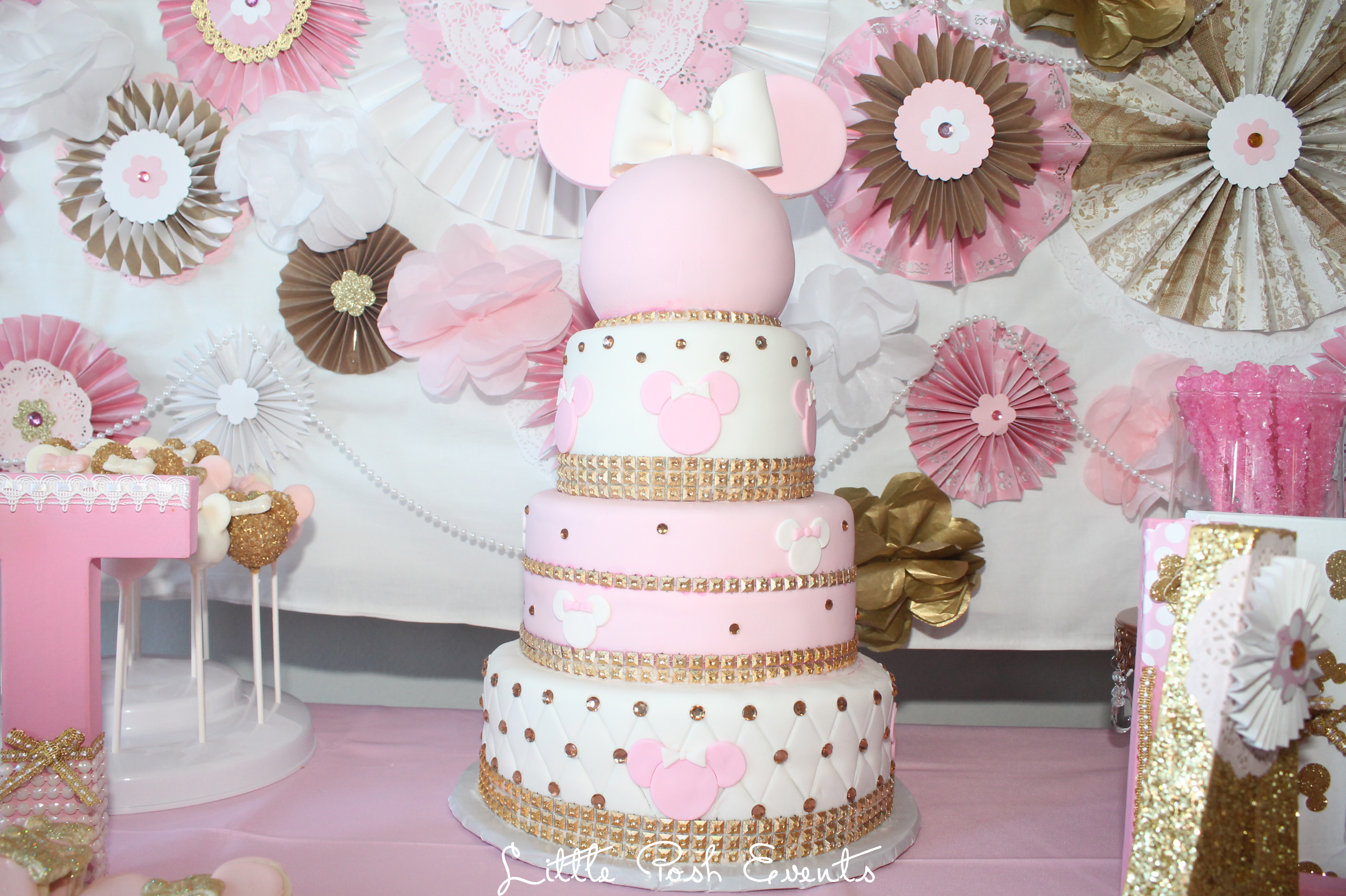 Gitalias 1st Birthday Minnie Mouse Inspired little posh events